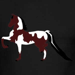 Half Arabian Paint Horse - Bay T-Shirts - Men's Ringer T-Shirt