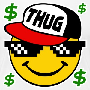 Thug Smiley Thug Emoticon Thug Life - Women's Premium T-Shirt