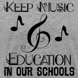 Music Education Support T-Shirts - Men's Premium T-Shirt