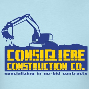 Consigliere Construction Co - Men's T-Shirt