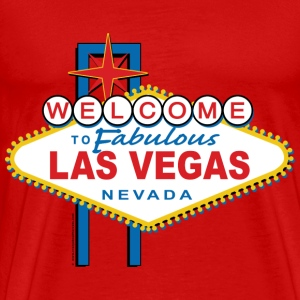 Welcome to Fabulous Las Vegas - Men's Premium T-Shirt