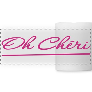 Oh Cheri (Darling) Mugs & Drinkware - Panoramic Mug