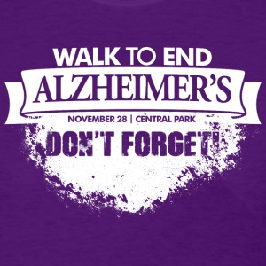 Alzheimer's Benefit - Don't Forget! - Women's T-Shirt