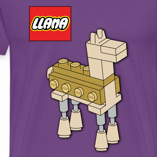 Llama Men's T-shirt (premium)
