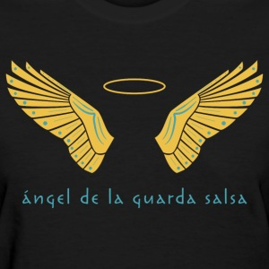 Ángel de la Guarda Salsa Women's Black - Women's T-Shirt