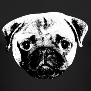 pug Long Sleeve Shirts - Men's Long Sleeve T-Shirt by Next Level