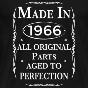 made in 1966 birthday T-Shirts - Men's Premium T-Shirt