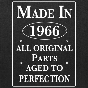 made in 1966 II birthday Bags & backpacks - Tote Bag