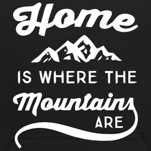 HOME IS WHERE THE MOUNTAINS ARE Sweatshirts - Kids' Hoodie