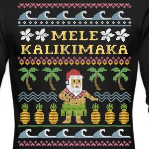 Mele Kalikimaka Christmas Long Sleeve Shirts - Men's Long Sleeve T-Shirt by Next Level
