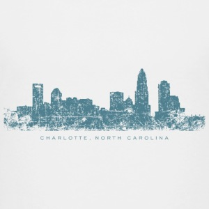 Charlotte, North Carolina Skyline T-Shirt (Childre - Kids' Premium T-Shirt