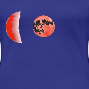 Moon by Claudia-Moda - Women's Premium T-Shirt