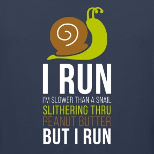 Snail Running T-shirt Tank Tops - Men's Premium Tank