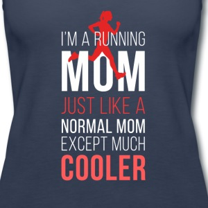 Running mom T-shirt Tanks - Women's Premium Tank Top