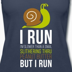 Snail Running T-shirt Tanks