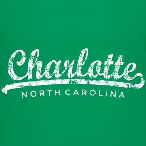 Charlotte, North Carolina Classic Vintage White