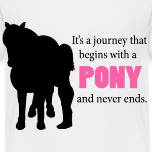 Starts With A Pony Baby & Toddler Shirts - Toddler Premium T-Shirt