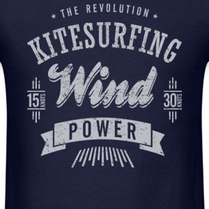 The Revolution Kitesurfing - Men's T-Shirt
