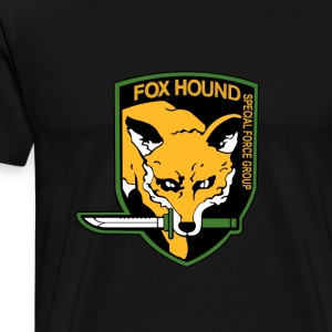 FOXHOUND Logo - Metal Gear T-Shirts - Men's Premium T-Shirt