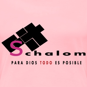"""Shalom"" by Claudia-Moda - Women's Premium T-Shirt"