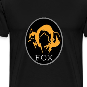 FOX - Metal Gear Solid - Men's Premium T-Shirt