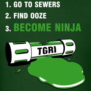 How to be a Ninja Turtle - Men's T-Shirt