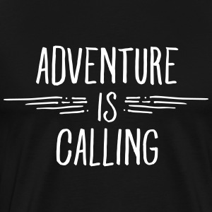 Adventure Is Calling T-Shirts - Men's Premium T-Shirt