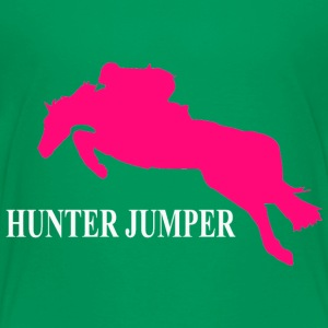 Hunter Jumper Baby & Toddler Shirts - Toddler Premium T-Shirt