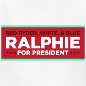 Christmas Story - Ralphie for President - Kids' T-Shirt