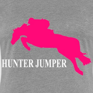 Hunter Jumper Women's T-Shirts - Women's Premium T-Shirt