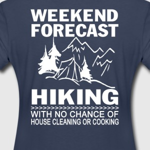 Weekend forecast hiking - Women's Premium T-Shirt