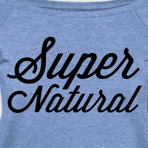 supernatural Long Sleeve Shirts - Women's Wideneck Sweatshirt