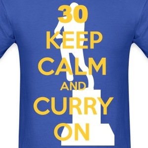 Keep Calm and Curry On -- MVP edition - Men's T-Shirt