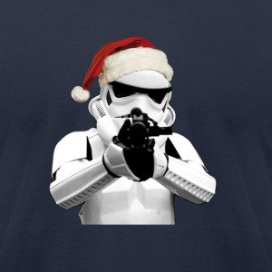 Santa Trooper SHIRT MAN - Men's T-Shirt by American Apparel