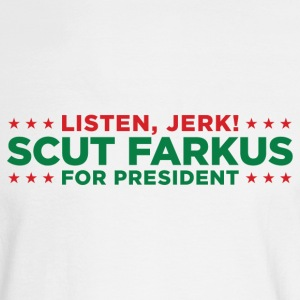 Scut Farkus for President! - Christmas Story Shirt - Men's Long Sleeve T-Shirt