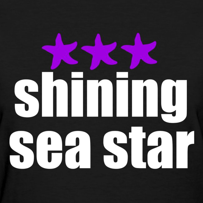Shining Sea Star White