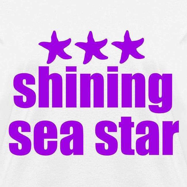 Shining Sea Star Purple