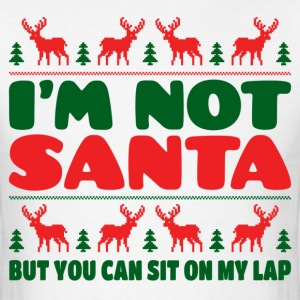 I'm Not Santa But You Can Sit On My Lab T-Shirts - Men's T-Shirt