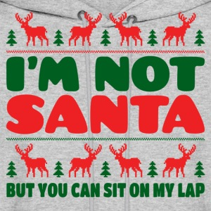 I'm Not Santa But You Can Sit On My Lab Hoodies - Men's Hoodie
