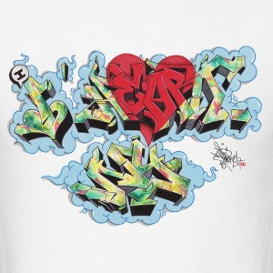 Nover - Design for New York Graffiti Color Logo T-Shirts - Men's T-Shirt