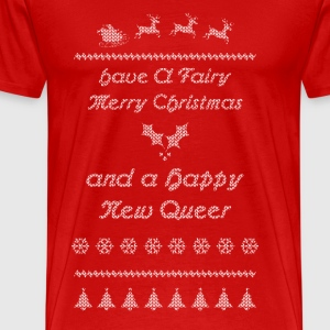 Have A Fairy Merry Christmas LGBT T-Shirts - Men's Premium T-Shirt