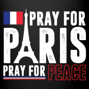 Pray For Paris Pray For Peace Mugs & Drinkware - Full Color Mug