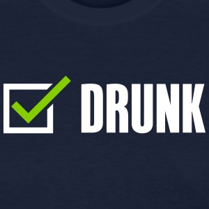 Drunk, check - Women's T-Shirt