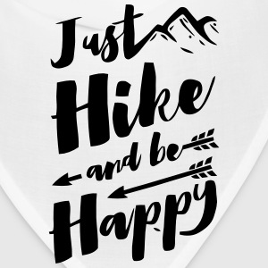JUST HIKE AND BE HAPPY Caps - Bandana