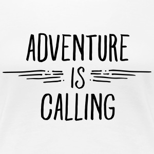 Adventure Is Calling Women's T-Shirts - Women's Premium T-Shirt