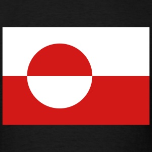 Greenland, Greenland Flag T-Shirts - Men's T-Shirt