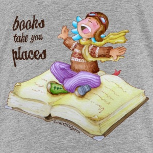 BOOKS TAKE YOU PLACES - Kids' Premium T-Shirt
