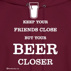Keep Your Beer Closer Men's Hoodie