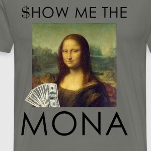 show me the mona 2 T-Shirts - Men's Premium T-Shirt