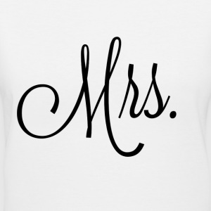 Mrs - Women's V-Neck T-Shirt
